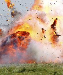 На американской военной базе в Японии прогремел взрыв