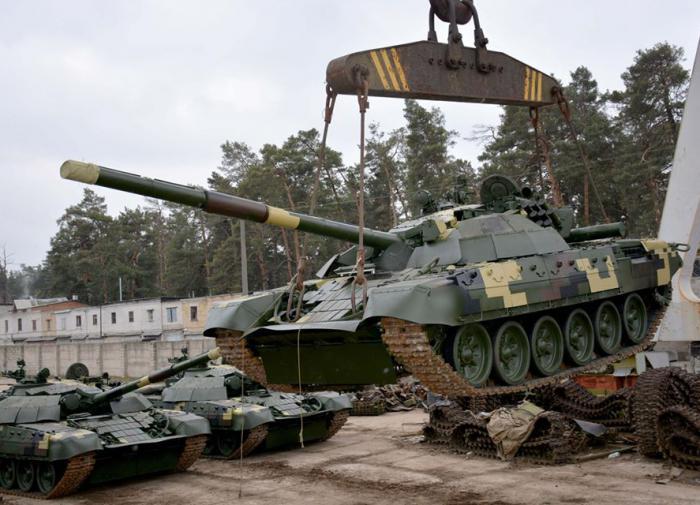 Украина не способна делать танки без российских комплектующих