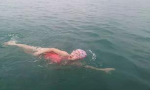 Девятилетняя китаянка смогла проплыть 26,7 км за 13 часов