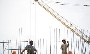 В России значительно сократилось жилищное строительство
