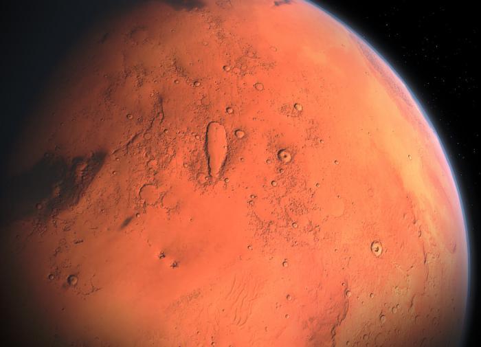 """Эксперт: """"На Марсе может быть жизнь в самых простейших формах"""""""