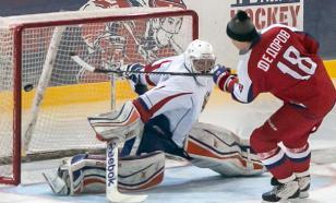 Ничушкин в матче НХЛ подрался, забросил шайбу и сделал передачу