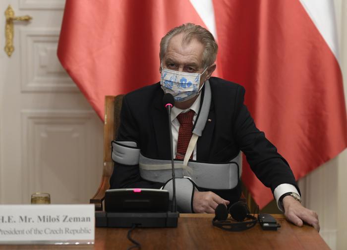 Это форма цензуры: президент Чехии об аресте Навального