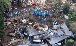 У берегов Японии снова произошло землетрясение