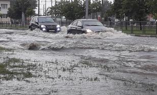 В Краснодаре выпала двухнедельная норма осадков. Город затопило