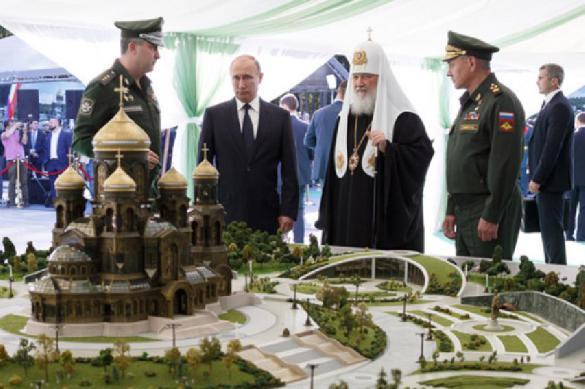Главный военный храм планируется построить к 2020 году