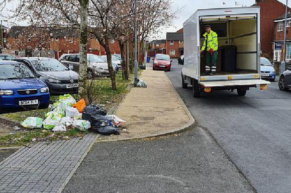 Из-за карантина по случаю пандемии Британия утонула в мусоре