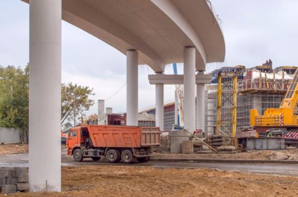 Проект реконструкции двух развязок на МКАД подготовят в 2018 году