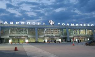 СК установил причину возгорания двигателя самолета в Новосибирске