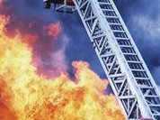 Пожарная лестница спасла цивилизацию