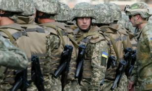 Новобранцев украинской армии забыли на вокзале