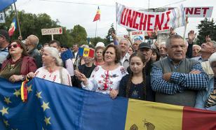 Протестующие в Кишиневе: Требуем отставки руководства антикоррупционного центра