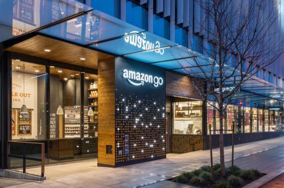 В США открылся первый в мире продуктовый магазин без продавцов и касс