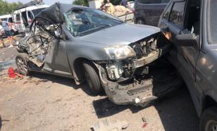 Девять машин попали в ДТП в Ростовской области. Погибли не менее трёх человек