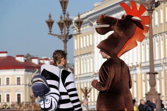 Суд оштрафовал аниматора за костюм коня из российского мультфильма