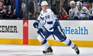 Сергачёв устроил первую драку в НХЛ после рестарта