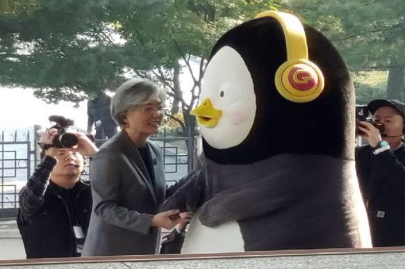 """Пингвин-талисман Pengsoo признан в Южной Корее """"Человеком года"""""""