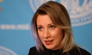 """Захарова выразила Украине """"почтение с кисточкой"""" за """"Балтик плюс"""""""