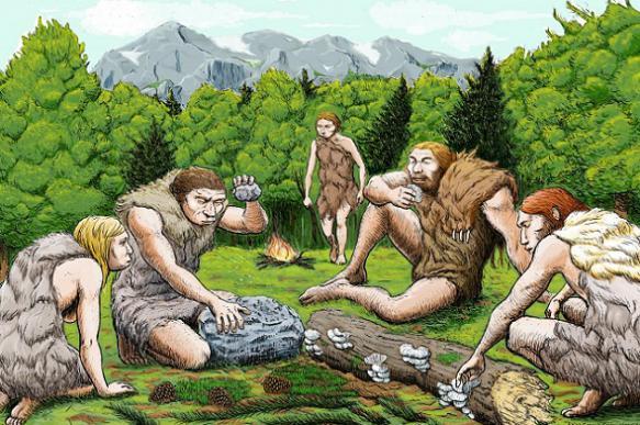 """Пещерные люди изобрели """"холодильник"""""""