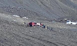 Туристический автобус перевернулся по дороге к канадскому леднику