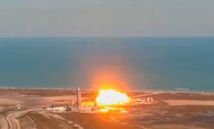 Звездолёт SpaceX опять взорвался при попытке приземлиться