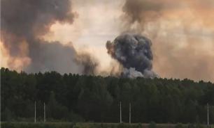 На складе боеприпасов в Ачинске вновь начали взрываться снаряды