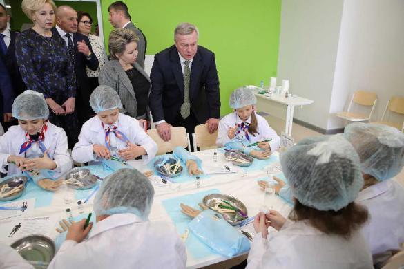 В Ростовской  области открылась новая  школа