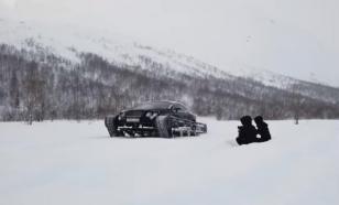 Блогер из Петербурга гоняет на гусеничном Bentley