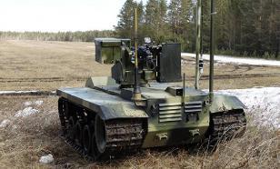 Россия начала испытания боевых роботов. Видео