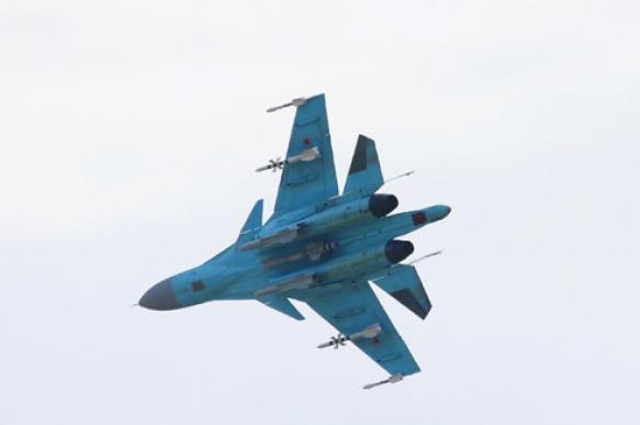 Два боевых самолета столкнулись в небе над Липецком