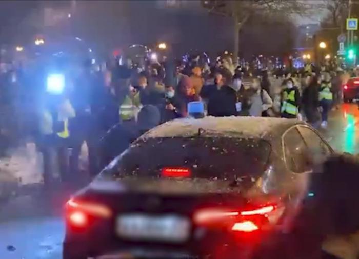 Названо количество протестующих на митинге в Москве