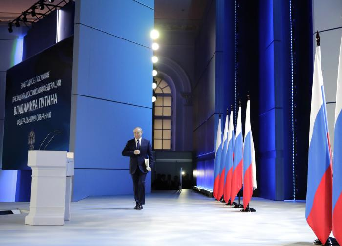 Слово президента: что Путин сказал Федеральному Собранию