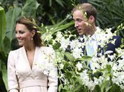 Принц Уильям с женой гостят в Сингапуре