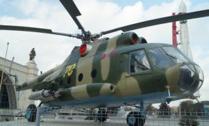 Российские вертолеты приземлились на бывшей базе США в Сирии