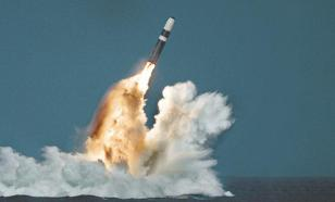 США запустили из-под воды баллистическую ракету Trident II