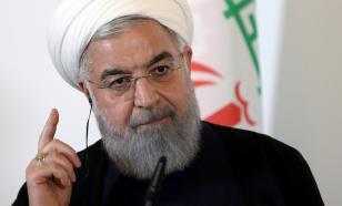 """Рухани рассказал о борьбе Ирана с """"экономическим терроризмом"""""""