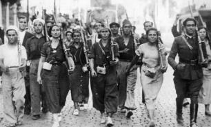 Военный переворот - причина гражданской войны в Испании