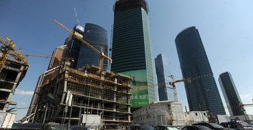 В Москва-сити сгорел очередной небоскреб