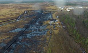 Около семи тонн нефти разлилось в Республике Коми