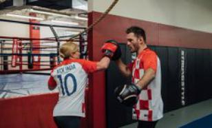 Президент Хорватии посетила чемпиона UFC в США