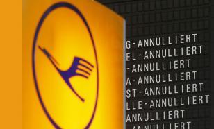 Забастовка  Lufthansa: из аэропортов Германии не могут вылететь  96 тысяч пассажиров