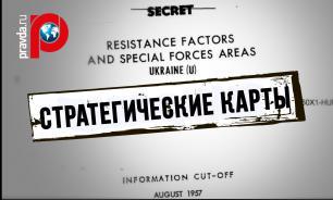 Рассекреченные карты ЦРУ показали современную Украину