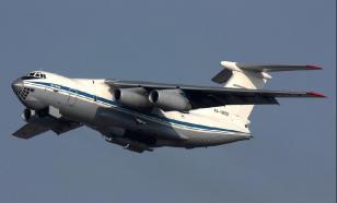 Третий самолет с российскими специалистами прибыл из Сербии