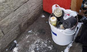 В Минске во дворе жилого дома нашли ведро с ураном
