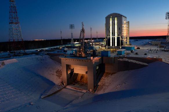 Чайка: строительство космодрома Восточный контролируют из космоса