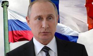 Путин выступил по телевидению с обращением к Олланду и народу Франции