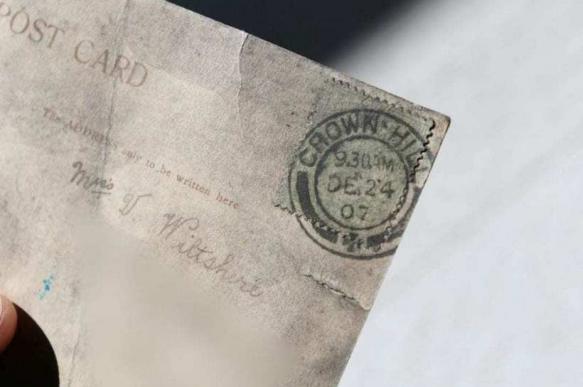 Жительнице Великобритании доставили письмо, которому 112 лет