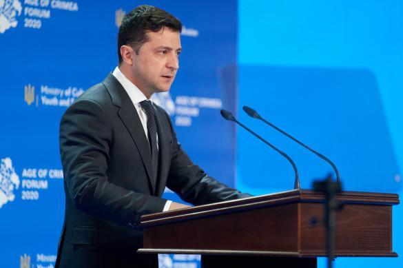 Зеленский ждет окончания войны на Донбассе