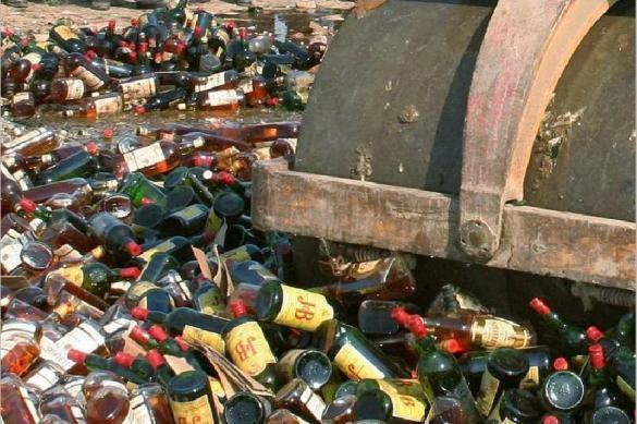 Предложение из Совфеда: конфискованный алкоголь не надо утилизировать
