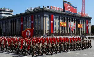Новое вооружение продемонстрировали на параде в Северной Корее